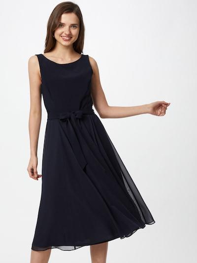 Vera Mont Cocktailkleid mit Gürtel in dunkelblau, Modelansicht