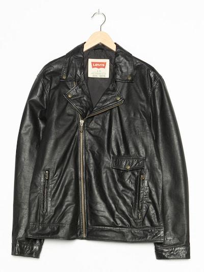 LEVI'S Lederjacke in S in schwarz, Produktansicht