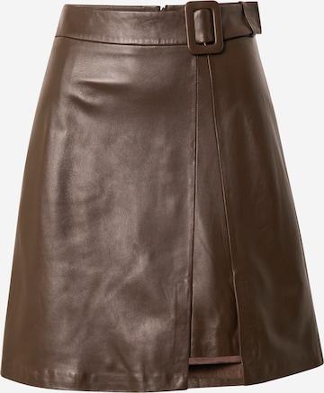 STEFFEN SCHRAUT Kjol 'Ranchera' i brun