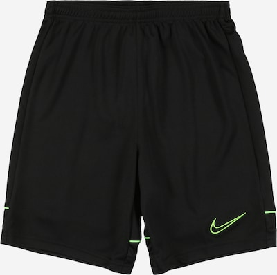 NIKE Sportbroek in de kleur Neongroen / Zwart, Productweergave