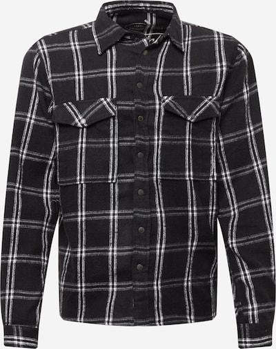 Herrlicher Skjorta 'Eddy' i svart / vit, Produktvy