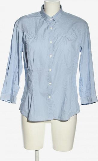 GANT Langarm-Bluse in XL in blau / weiß, Produktansicht