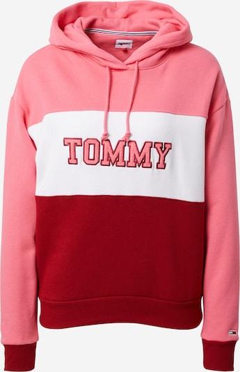Tommy Jeans Sweatshirt in de kleur Pink / Rood / Wit, Productweergave