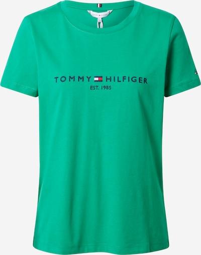 Marškinėliai iš TOMMY HILFIGER , spalva - tamsiai mėlyna / žolės žalia, Prekių apžvalga