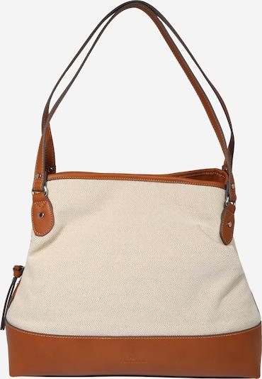 TOM TAILOR Nákupní taška 'Ines' - béžová / rezavě hnědá, Produkt