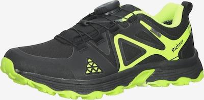 RICHTER Sneaker in neongrün / schwarz, Produktansicht