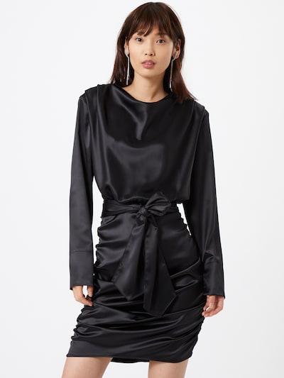Gina Tricot Koktel haljina 'Irma' u crna, Prikaz modela