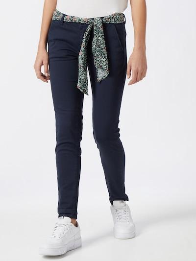 Le Temps Des Cerises Pantalón chino 'LIDY' en azul cobalto, Vista del modelo