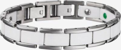 Lunavit Armband in silber / weiß, Produktansicht