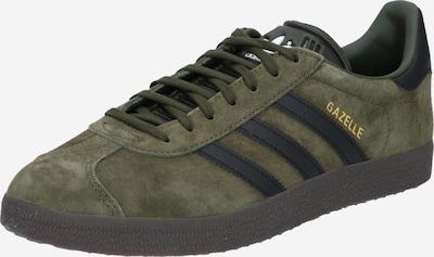 ADIDAS ORIGINALS Sneaker 'GAZELLE' in dunkelgrün / schwarz, Produktansicht