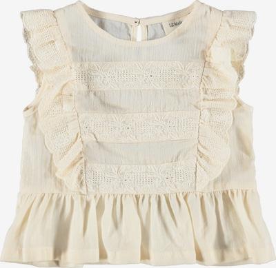 Lil ' Atelier Kids Blouse 'Solange' in de kleur Wit, Productweergave