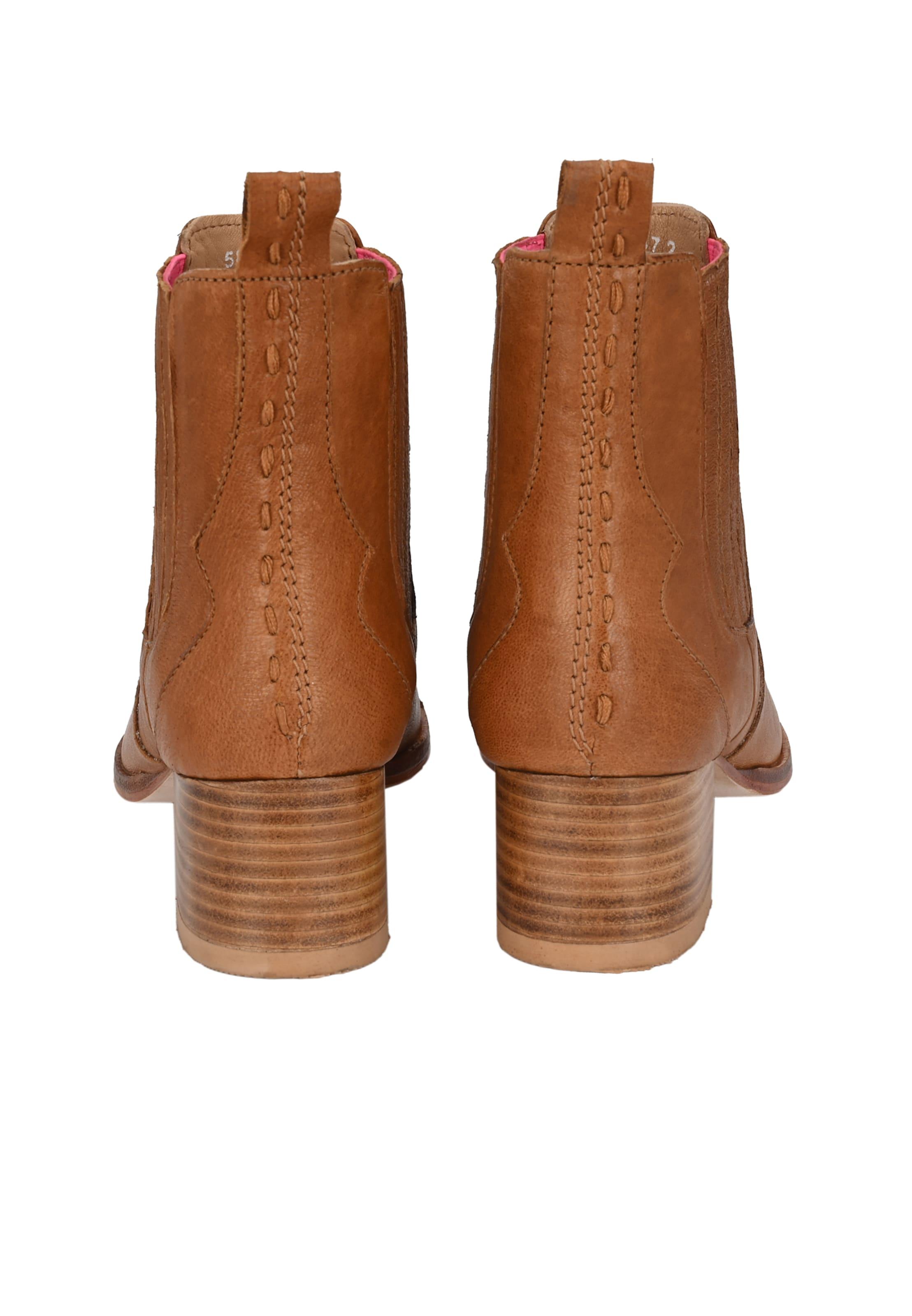 Crickit Chelsea boots VALESKA in Bruin / Cognac Leer ART128194-003