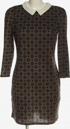 QED London Minikleid in L in creme / blau / braun, Produktansicht