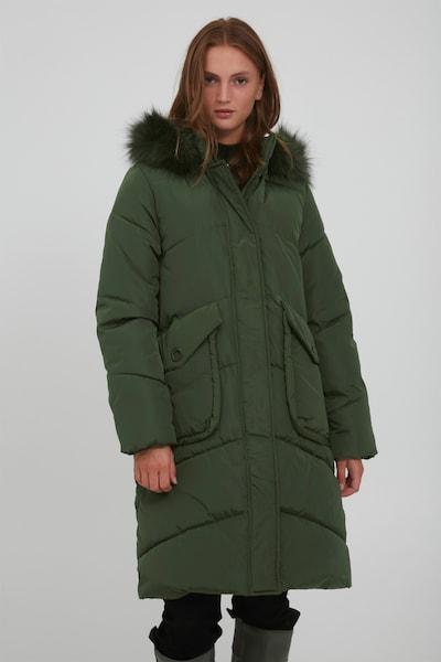 b.young Wintermantel 'BYABELONE' in khaki / oliv, Modelansicht