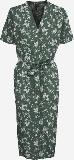VERO MODA Blusenkleid in grün / weiß, Produktansicht