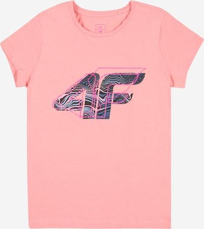 4F Sportshirt in blau / lila / rosa / schwarz, Produktansicht