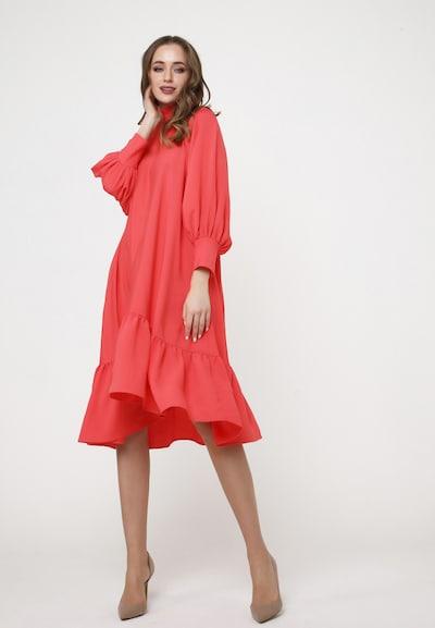Madam-T A-Linien-Kleid 'PALIANA' in koralle / rot, Modelansicht