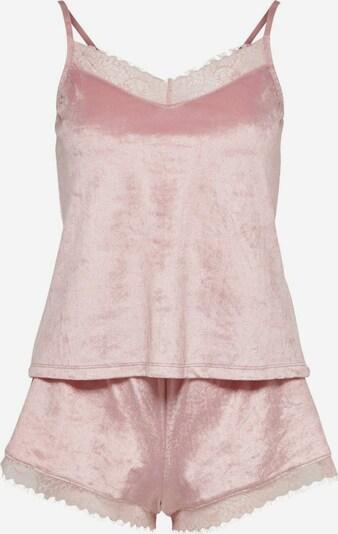 ONLY Samt Nachtwäsche in rosa, Produktansicht