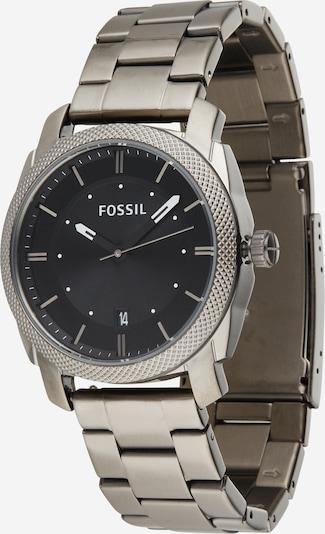 FOSSIL Аналогов часовник 'Machine' в сиво / черно, Преглед на продукта