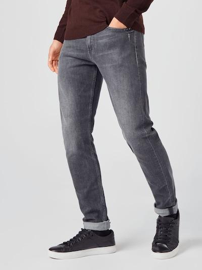 Jeans Calvin Klein Jeans pe denim negru, Vizualizare model