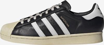ADIDAS ORIGINALS Sneaker 'Superstar' in beige / schwarz / weiß, Produktansicht