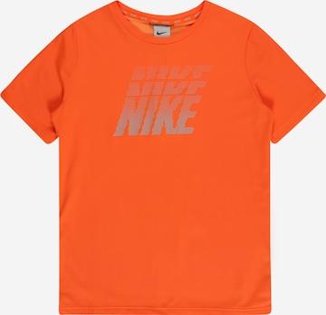 oranžs NIKE Sporta krekls