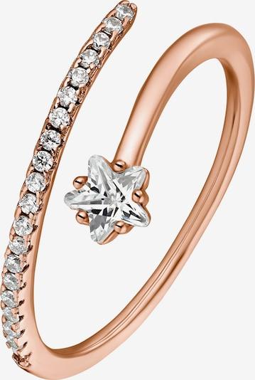 Heideman Ring 'Jella' in rosegold / silber, Produktansicht