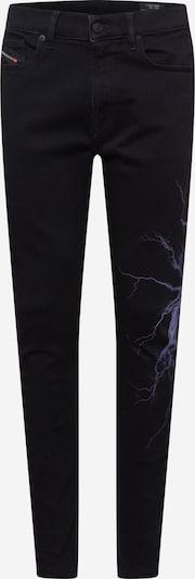 Džinsai 'D-AMNY-Y-SP' iš DIESEL , spalva - alyvinė spalva / šviesiai violetinė / juoda, Prekių apžvalga