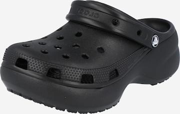 Crocs Clogs 'Classic Platform Clog W' in Schwarz
