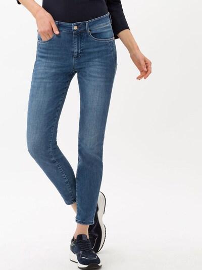 BRAX Jeans 'Ana S' in blue denim, Modelansicht
