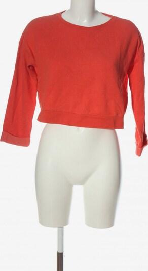 Topshop Sweatshirt in M in rot, Produktansicht