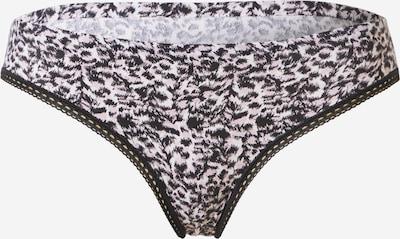 Calvin Klein Underwear Slip en nude / noir, Vue avec produit