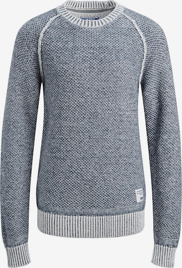 Jack & Jones Junior Pullover in nachtblau / weiß, Produktansicht
