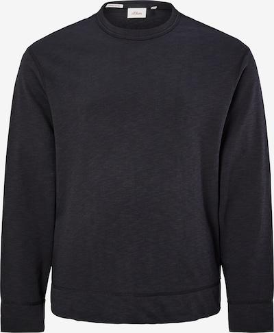 s.Oliver Sweatshirt in de kleur Donkergrijs, Productweergave