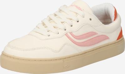 GENESIS Baskets basses 'G-Soley' en orange / rose / blanc naturel, Vue avec produit