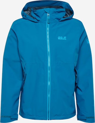 JACK WOLFSKIN Outdoorjas 'Evandale' in de kleur Blauw, Productweergave