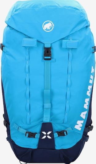MAMMUT Rucksack 'Trion Nordwand' in nachtblau / hellblau / weiß, Produktansicht