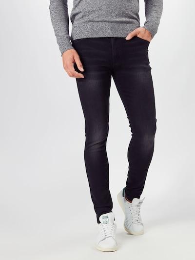 Denim Project Jeans 'MR. BLACK' in black denim, Modelansicht