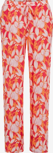 Hanro Pyjamahose 'Sleep & Lounge' in orange / puder / rot / grenadine, Produktansicht