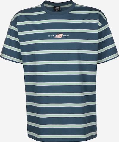 new balance T-Shirt ' MT01514 ' in blau, Produktansicht