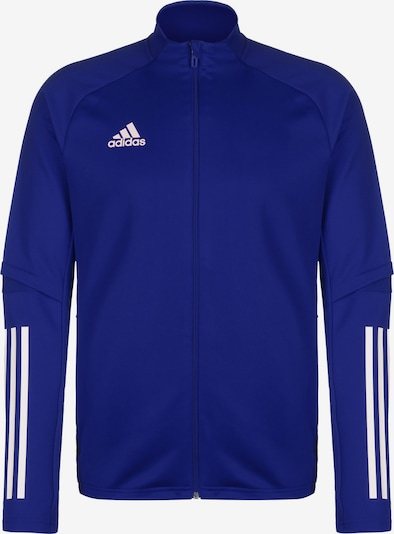 ADIDAS PERFORMANCE Sweatjacke 'Condivo 20' in blau / weiß, Produktansicht
