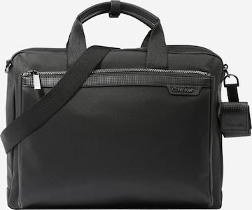 Borsa per laptop di Calvin Klein in nero