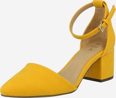 CALL IT SPRING Дамски обувки на ток с отворена пета 'DRIZZY' в жълто, Преглед на продукта