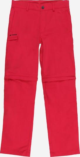 VAUDE Outdoorové nohavice 'Detective' - oranžovo červená / čierna, Produkt