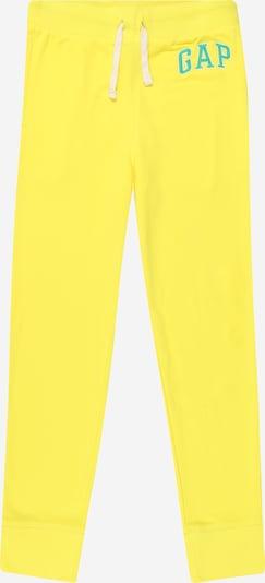 GAP Панталон в жълто / нефритено зелено, Преглед на продукта