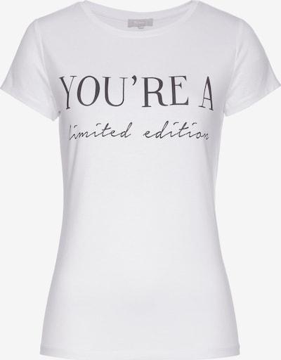 TAMARIS Shirt in Black / White, Item view