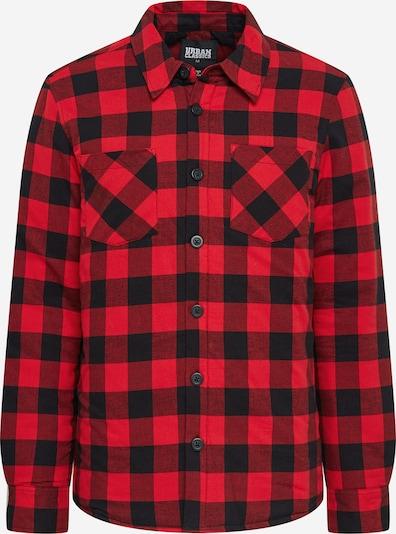 Camicia Urban Classics di colore rosso chiaro / nero, Visualizzazione prodotti