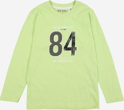 BLUE SEVEN Shirt in hellgrün / schwarz / weiß, Produktansicht