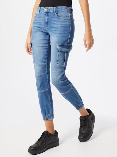 ONLY Klapptaskutega teksapüksid sinine denim, Modellivaade