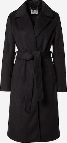 Guido Maria Kretschmer Collection Ανοιξιάτικο και φθινοπωρινό παλτό 'Milly' σε μαύρο